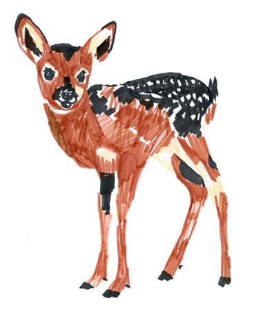 jeanne-louise-dessins-bambi
